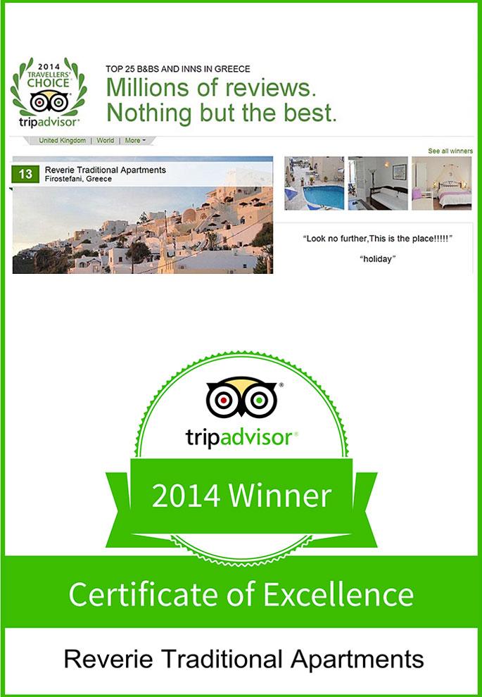 Reverie Santorini Hotel - Reverie Awards